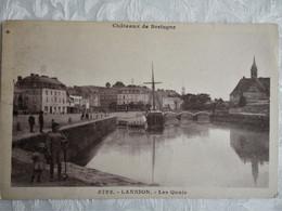 CPA LANNION - Les Quais - Lannion