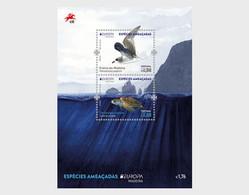 Madeira.2021.Europa CEPT.Endangered National Wildlife.s/s. - 2020