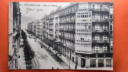 CPA.San Sebastian . Calle De Urbieta.   (R1.941) - Guipúzcoa (San Sebastián)
