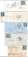 (ZZZ) - Y &T N° 14 SUR 13 LETTRES - 1853-1860 Napoléon III