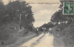 17-ILE D'OLERON- SAINT-TROJAN-LES-BAINS-ROUTE DE LA GRANDE PLAGE - Ile D'Oléron
