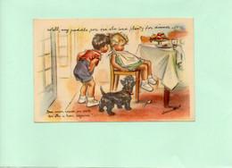 H0705 - Illustrateur Germaine BOURET - Ben Mon Vieux, On Voix Qu'elle A Bien Déjeuné !... - Bouret, Germaine