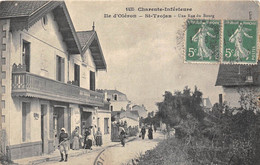 17-ILE D'OLERON- SAINT-TROJAN-LES-BAINS- UNE RUE DU BOURG - Ile D'Oléron