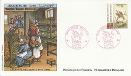 FDC 1989 CROIX ROUGE - 1980-1989