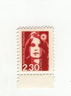 Briat 2fr30 Rouge YT 2614d : Faux De Barcelone Dentelé 11 Et Sans Phospho BDF . Rare , Voir Scan . Cote YT : 20 € - Variedades: 1980-89 Nuevos