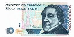 Italia - Prova Di Stampa - 10 Unità Gioacchino Rossini IPZS - Otros