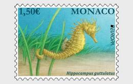 Monaco.2021.Europa CEPT.Endangered National Wildlife.1 V. ** . - 2020