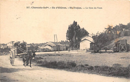 17-ILE D'OLERON- SAINT-TROJAN-LES-BAINS-LA GARE DU TRAM - Ile D'Oléron