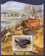 Turtle Turtles Solomon Islands MNH S/S Stamp 2012 - Turtles
