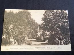 Villeurbanne, Pensionnat De L'immaculée Conception, Le Bosquet Du Sacré Cœur - Villeurbanne
