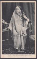 INDIA, A High Caste Brahmin Girl Of Benares - India