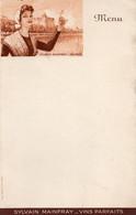 H0705 - SYLVAIN MAINFRAY - VINS PARFAITS - SAUMUR - Menus