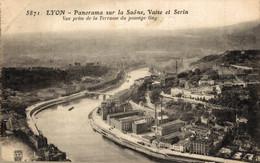 N°11570 Z -cpa Lyon -panorama Sur La Saône, Vaise Et Serin- - Autres