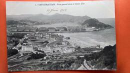 CPA.San Sebastian. Vista Général Desde El Monte Ulia.  (R1.959 ) - Guipúzcoa (San Sebastián)