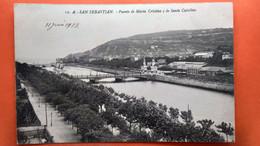 CPA.San Sebastian.  Puente De  Maria Cristina  Y De Santa Catalina. (R1.961 ) - Guipúzcoa (San Sebastián)