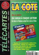 Revue COTE En Poche N° 37 Année 2001 - 64  Pages - Books & CDs