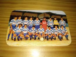"""Calendar Of Pocket  """" Futebol Soccer - Valadares """" 1990 - Petit Format : 1981-90"""