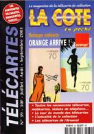 Revue COTE En Poche N° 39 Année 2001 - 64  Pages - Books & CDs