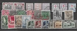 Belgien - Selt./gest.. Serien Aus 1920/35 - Aus Michel 159 Und 404! - Used Stamps