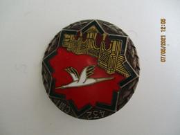 Insigne Militaire   Emaille 432  C M I Cigogne Palais Arabe Drago Paris G 1412 - Heer
