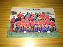 "Calendar Of Pocket  "" Futebol Soccer - Equipa De Futebol Clube De Felgueiras "" 1986 - Formato Piccolo : 1991-00"