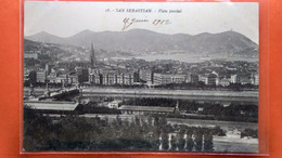 CPA. San Sebastian.  Vista Parcial.   (R1.965 ) - Guipúzcoa (San Sebastián)