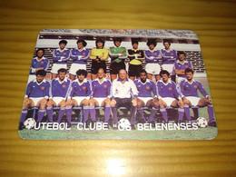 "Calendar Of Pocket  "" Futebol Soccer - Futebol Clube Os Belenenses "" 1986 - Petit Format : 1981-90"