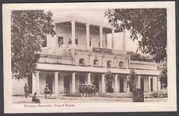 INDIA,   BANGALORE Hussars Barracks, Guard Room (Cornwall's Barracks) - Tuck's Postcard - India