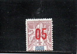 GRANDE COMORE 1912 * - Ongebruikt