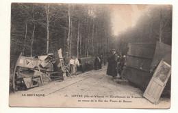 Liffré - Déraillement Du Tramway Au Retour De La Fête Des Fleurs De Rennes - 1915 - Non Classificati