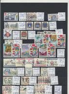 4992 Czechoslovakia Tschechoslowakia Set Of Different Stamps 1983 - 1989 - Sin Clasificación
