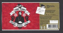 Etiquette De Bière  - De Style Russian Impérial Stout  -  Brasserie Marsac / L'Isle  (24) - Beer