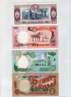 Lot De 4 Billets Colombie - Colombia