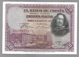EspagneVelasquez - 50 Pesetas
