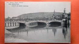 CPA. San Sebastian.Puente De Maria Cristina   (R1.983 ) - Guipúzcoa (San Sebastián)