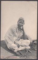 INDIA,   A Beauty Of Ramnagar - Native Young Woman - Printed Postcard - India