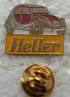 Pin's - Automobiles - Citroën - 2 CV - Heller - - Citroën