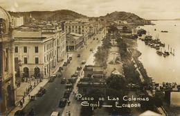 Real Photo Guayaquil Paseo De Las Colonias - Ecuador