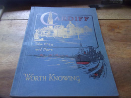 ENGLAND  1937  CARDIFF THE CITY  AND PORT  WORTH KNOWING - Europa