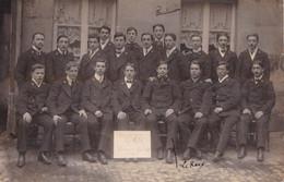 Caen, Photo De Classe, Promotion 1909/1912, école Normale De Caen, Annotée Le Roux, Paul, Charlot - Zonder Classificatie