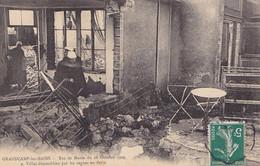 Grandcamp-les-bains, Raz De Marée Du 28 Octobre 1909, Villas Démeublées Par Les Vagues En Furie, Animée, Dégâts - Altri Comuni