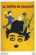 LA REVUE DE CHARLOT ................. Affiche De Léo Kouper - Posters On Cards