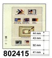 LINDNER-T-Blanko - Einzelblatt 802 415 - Blank Pages