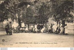 D47  VILLENEUVE SUR LOT   Hôpital 14  Société De Secours Aux Blessés - Weltkrieg 1914-18