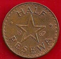 GHANA 1/2 PESEWA - 1967 - Ghana
