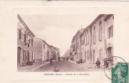 Pexiora, Aude, Entrée De La Grande Rue, Animée, Habitations - Altri Comuni