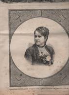 L'UNIVERS ILLUSTRE 18 07 1885 - VIETNAM MANDARIN ANNAMITE / HUE - NEW YORK ARRIVEE STATUE DE LA LIBERTE - AFGHANISTAN - 1850 - 1899