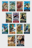 Gibraltar 2008 Set - Definitive Birds Additional Values 2008 - Gibraltar