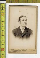 282 KL - VIEILLE PHOTO HOMME - OUDE FOTO MAN - PHOTOGRAPHIE : J. BAERT DE BUCK GAND - Old (before 1900)