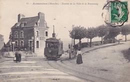 """Avranches, Manche, Entrée De La Ville,Tramway, Animée, Maison """"peintre"""" - Avranches"""